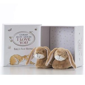 "Other - ""Guess How Much I Love You"" Newborn Booties 